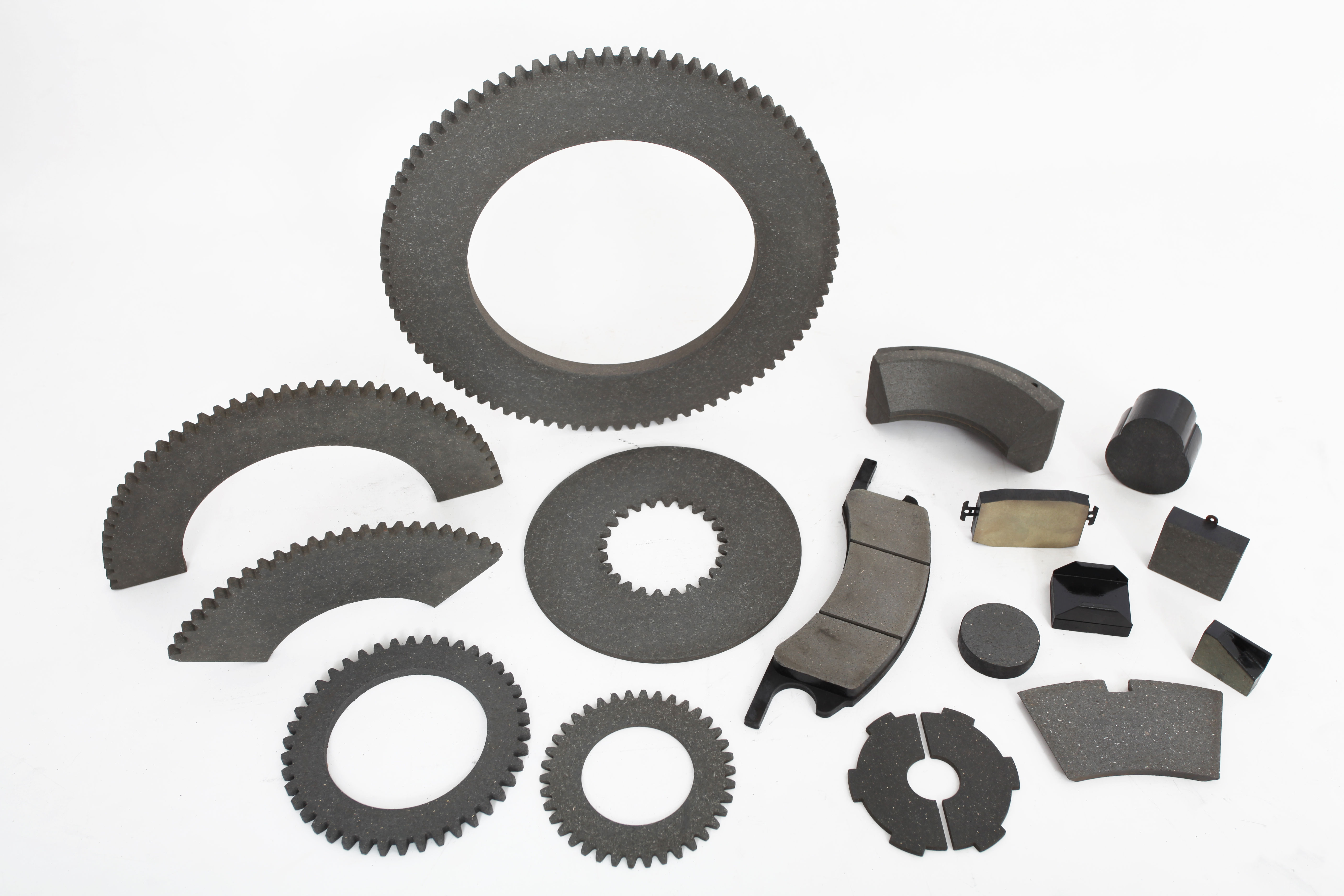 A large collection of parts which Industrial Brakes has to offer