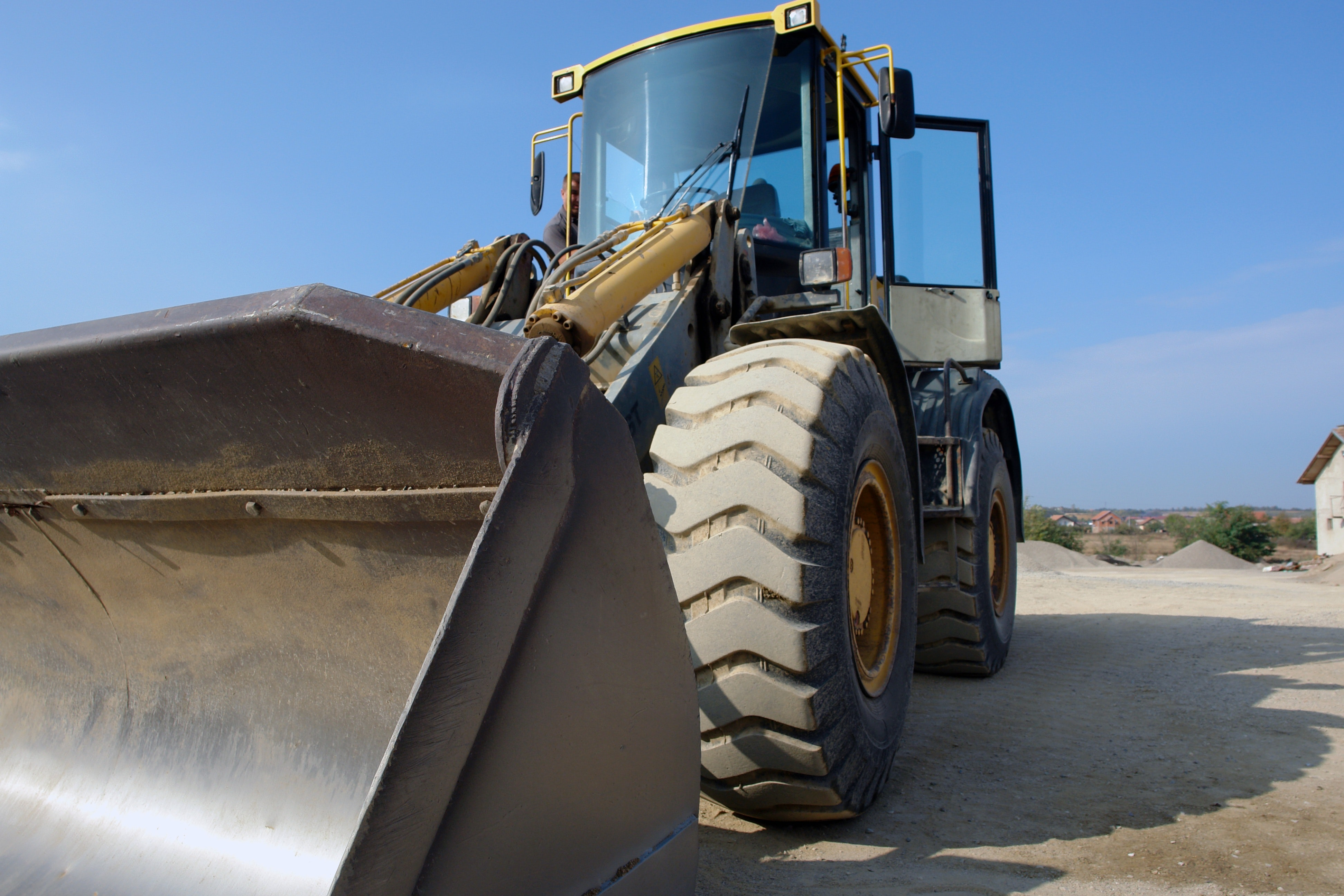 A tractor is one of the many vehicles we can supply parts for
